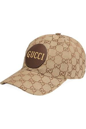 Gucci Herren Caps - GG canvas baseball cap - Nude