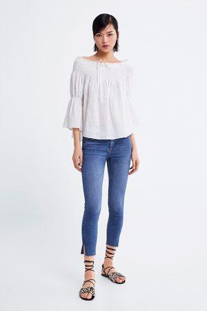 Zara Mid-rise-jeans im skinny-fit