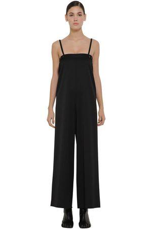 MM6 MAISON MARGIELA Tailored Wool Blend Jumpsuit