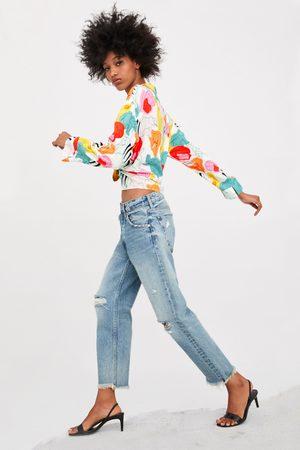 Zara Jeans mid rise straight