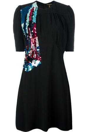 LOUIS VUITTON Kleid mit Paillettenstickerei