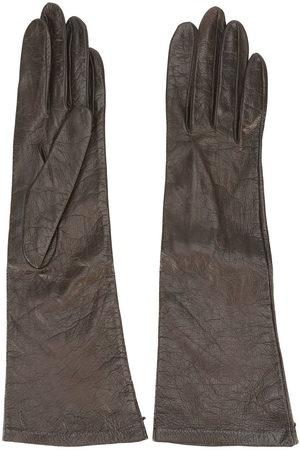 Yves Saint Laurent Halblange Handschuhe