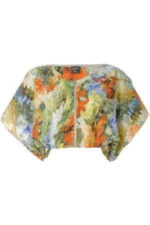 Jean Paul Gaultier Oberteil mit abstraktem Print