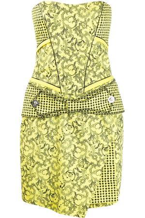 VERSACE Damen Bedruckte Kleider - Kleid mit Barock-Print
