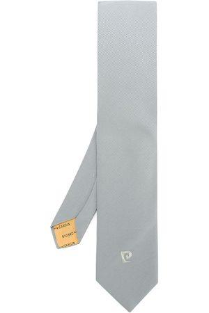 Pierre Cardin Krawatte mit Logo-Stickerei