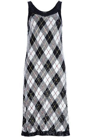 Jean Paul Gaultier Kleid mit Argyll-Karomuster