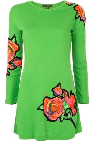 LOUIS VUITTON Kleid mit Rosen-Print