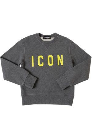 Dsquared2 Sweatshirt Aus Baumwolle Mit Icondruck