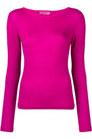 Yves Saint Laurent Pre-Owned Damen Strickpullover - Kaschmirpullover mit rundem Ausschnitt