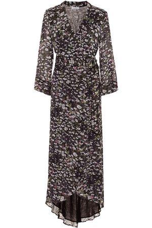 Ganni Damen Freizeitkleider - Wickelkleid aus Georgette
