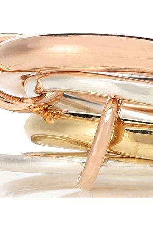 SPINELLI KILCOLLIN Ring Cici aus 18kt Rosé , 18kt Gelbgold und Sterlingsilber