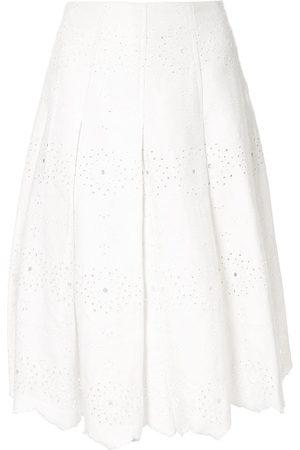 Bambah Damen Faltenröcke - Victoria denim skirt