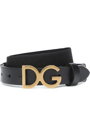 Dolce & Gabbana Gürtel mit Lederanteil