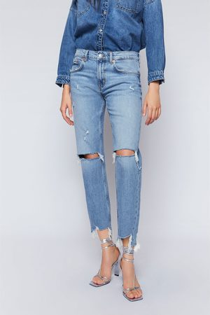 Zara Slim-boyfriend-jeans zw premium in beach blue
