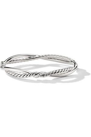 David Yurman Kleine 'Continuance' Armband mit Diamanten - Ssadi