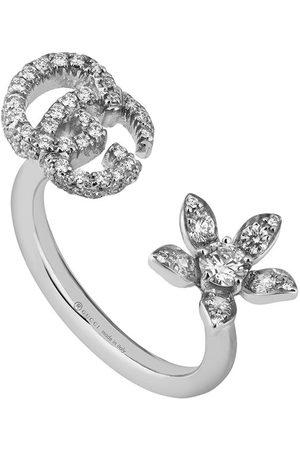 Gucci Ring mit Diamanten - 9066 silver
