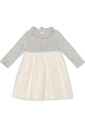 Il gufo Baby Kleid aus Jersey und Tüll