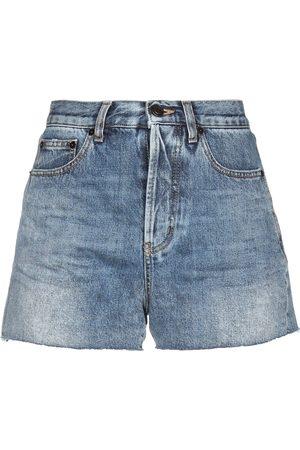 Saint Laurent Damen Shorts - DENIM - Jeansshorts - on YOOX.com