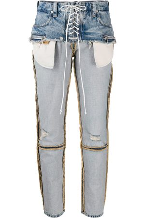 Unravel Project Jeans mit Kordelzug