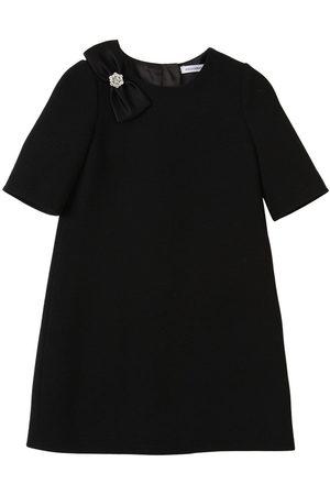 Dolce & Gabbana Wollkleid Mit Satinschleife