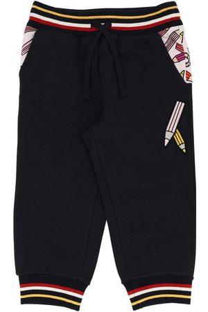 Dolce & Gabbana Trainingshose Aus Baumwolle Mit Druck