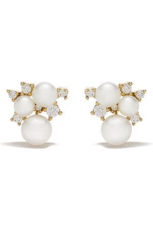 Yoko London 18kt 'Trend' Goldohrringe mit Diamanten