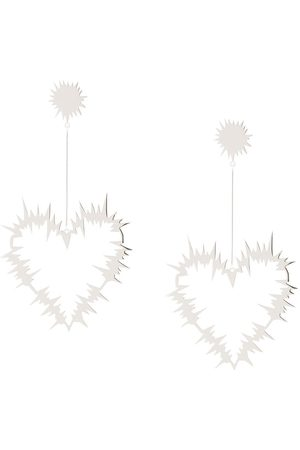 Karen Walker Electric Heart' Ohrringe