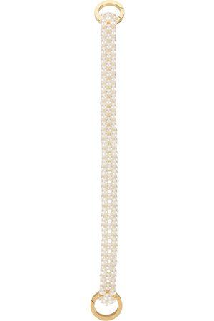 0711 Damen Handtaschen - Henkel mit kleinen Perlen