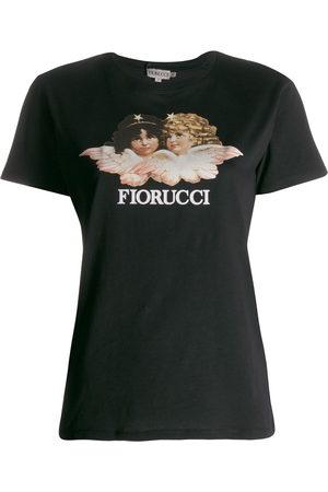 Fiorucci T-Shirt mit Engel-Print