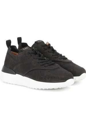 Tod's Damen Sneakers - Sneakers aus Veloursleder