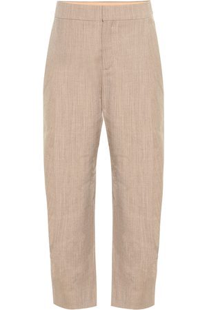 Chloé Cropped-Hose aus Wolle