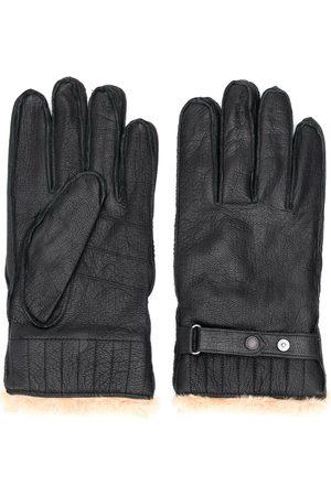 Barbour Handschuhe mit Faux-Fur-Futter