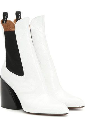 Chloé Ankle Boots Wave aus Leder