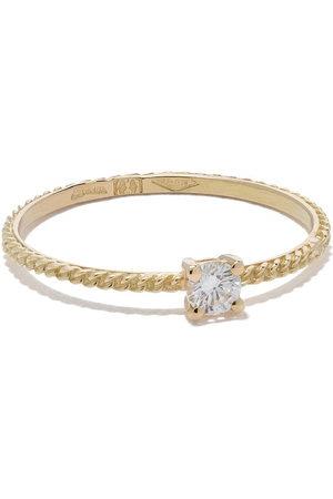 WOUTERS & HENDRIX 18kt 'Uzerai' Goldring mit Diamanten - Yellow
