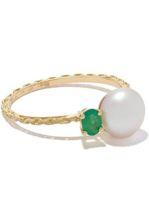 WOUTERS & HENDRIX 18kt Gelbgoldring mit Perle - Yellow