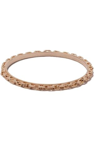 WOUTERS & HENDRIX 18kt Rotgoldring im Ketten-Design - Pink