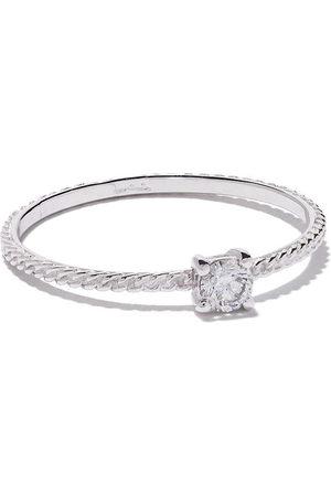 WOUTERS & HENDRIX 18kt 'Uzerai' Goldring mit Diamanten - White