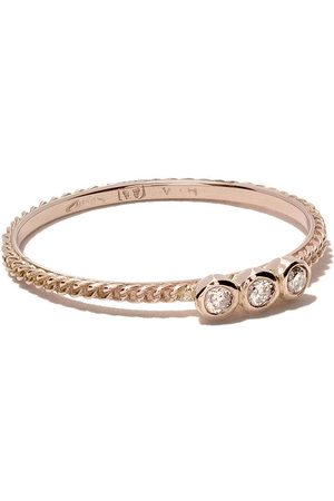 WOUTERS & HENDRIX 18kt Rotgoldring mit Diamanten - Pink