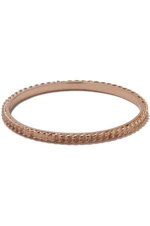 WOUTERS & HENDRIX 18kt Goldring im Ketten-Design - Pink