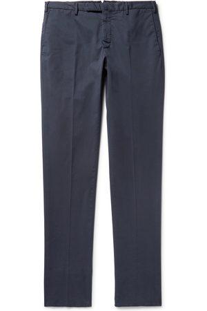 Incotex Four Season Slim-fit Cotton-blend Chinos
