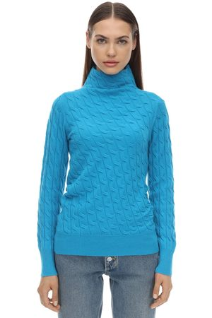 Sportmax Damen Sweatshirts - Miele Cashmere Knit Sweater