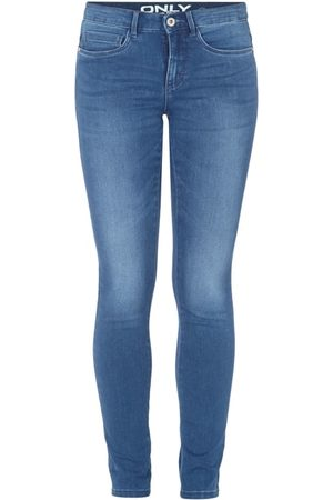 Only Skinny Fit Jeans mit Mid Rise und Stretch-Anteil
