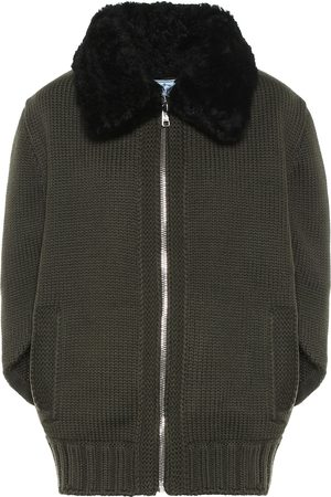Prada Jacke aus Wolle