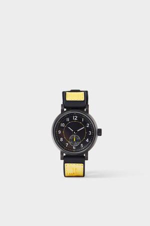 Zara Sportliche armbanduhr in farbkombination