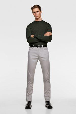 Zara Herren Slim & Skinny Hosen - Farbige skinny-hose