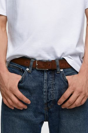 Zara Herren Gürtel - Gürtel aus veloursleder