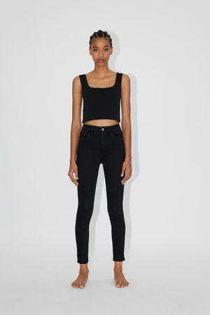 Zara Hi-rise-jeans sculpt