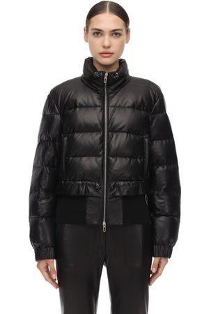 DROME Damen Lederjacken - Leather Down Jacket