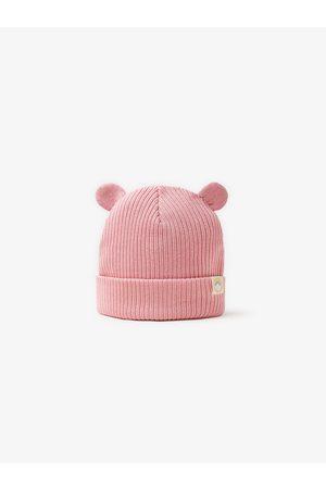 Zara Mütze aus rippenstrick mit öhrchen