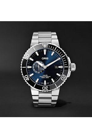 Oris Herren Uhren - Aquis Small Second Date Automatic 45.5mm Stainless Steel Watch, Ref. No. 01 743 7733 4135-07 8 24 05PEB
